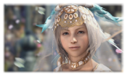 Принцесса Эш из 12 Финалки радовала не только глаз, но и слух своим милым голосом.