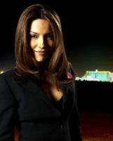 Знойная леди из не менее знойного сериала про казино, большие деньги и достопримечательности Лас-Вегаса, столицы игорного бизнеса