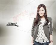Телохранитель Ким На-На, способная сразить милейшей улыбкой, а когда не выйдет - то и приемами самообороны