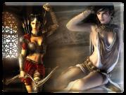 Ныне замороженная серия «Принц Персии» подарила сразу двух харизматичных героинь, Фару и Кайлину, заодно ввела моду на ИИ спутницу для игрока.