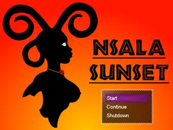 Nsala_Sunset_Title_Screenshot